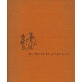 Verlag Broscher & Co. Hamburg Hundert Tage auf Bali, von Walter Dreesen