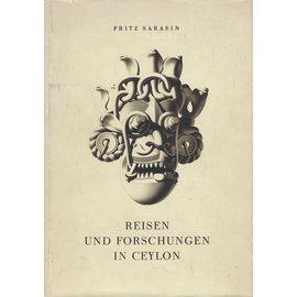 Verlag von Helbling & Lichtenhahn Basel Reisen und Forschungen in Ceylon, von Fritz Sarasin