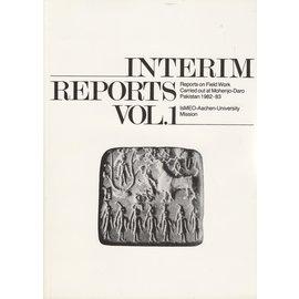 Istituto Italiano per il Medio ed Estremo Oriente Interim Reports Vol. 1: Reports on Field Work carried out at Mohenjo-Daro