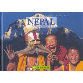Bruckmann Verlag München Nepal, wo Shiva auf Buddha trifft, von Dieter Glogowski