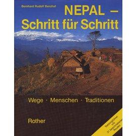 Bergverlag Rudolf Rother, München Nepal - Schritt für Schritt, von Bernhard Rudolf Banzhaf