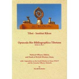 Verlag Tibet Institut Rikon Political Officers, Sikkim and Heads of British Mission, Lhasa