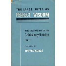 Luzac & Company The Large Sutra on Perfect Wisdom, by Edward Conze