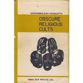 Firma KLM Private Ltd. Obscure Religious Cults, by Shashibhusan Dasgupta