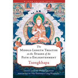 Wisdom Publications The Middle-Lenght Treatise on the Stages of the Path to Enlightenment, by Tsongkhapa