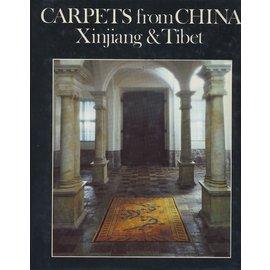 Bamboo Publishing, London Carpets from China: Xinjiang ] Tibet, by Lennart Larsson jr