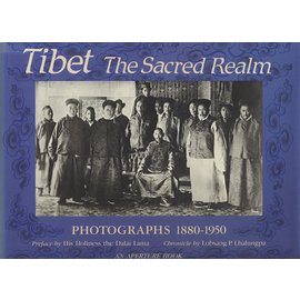 Aperture Books Tibet, the Sacred Realm, by Lobsang P. Lhalungpa  SC