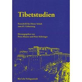 Bier'sche Verlagsanstalt Tibetstudien: Festschrift für Dieter Schuh, von Petra Maurer und Peter Schwieger