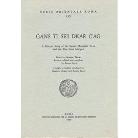 Serie Orientale Roma gans ti se'i dkar c'ag, by Namkhai Norbu and Ramon Prats