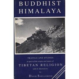 Himalayan Book Seller Buddhist Himalaya, by David Snellgrove