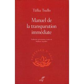 Cerf, Paris Manuel de la transparution immédiate, par Tülku Tsullo, Stéphane Arguillère