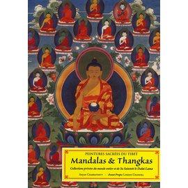 Guy Trédaniel Editeur, Paris Peintures sacrées du Tibet: Mandalas & Thangkas, by Anjan Chakraverty