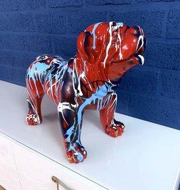 Sculpture - Bulldog - ''RED''