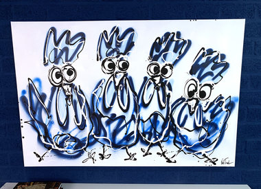 Paintings Chickens