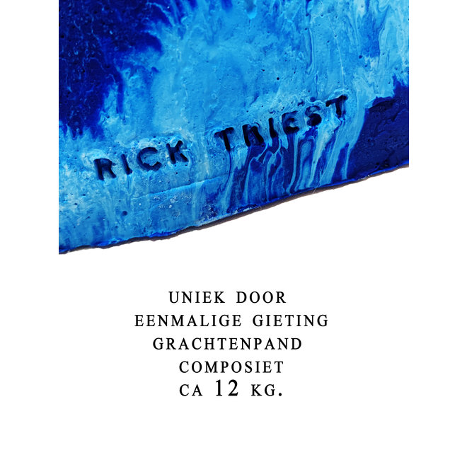 1/1 - Amsterdam Canal house - Rick Triest - Blue - Herengracht #202 - COMPOSIET