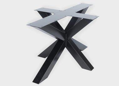 Stalen tafel onderstel