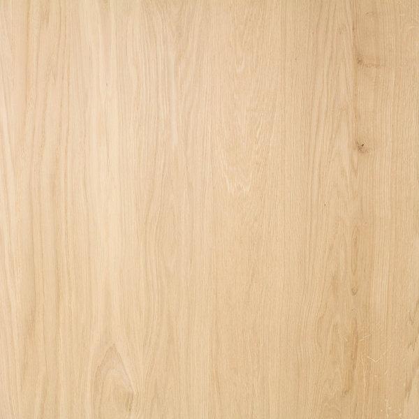 Eiken paneel - 2 cm dik (1-laag) - 122 cm breed - 140 - 300 cm lang - foutvrij eikenhout