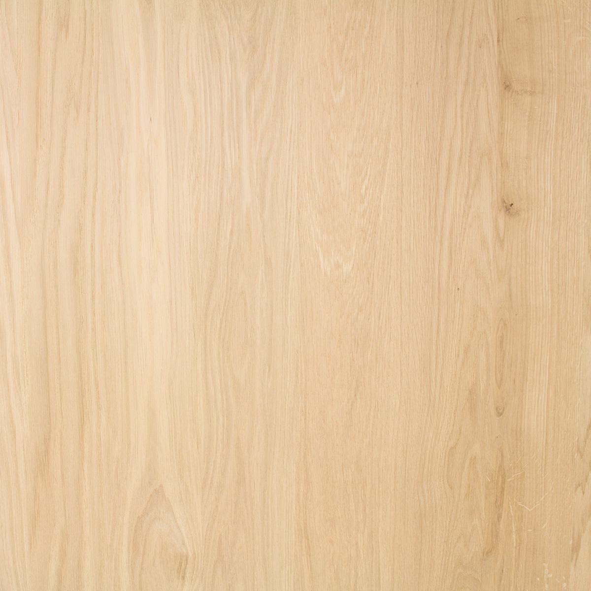 Eiken paneel - 4 cm dik (1-laag) - 122 cm breed - 140 - 300 cm lang in lengtestaffels van 20 cm - Foutvrij (A) eikenhout kd 8-12% - verlijmd - doorgaande lamellen