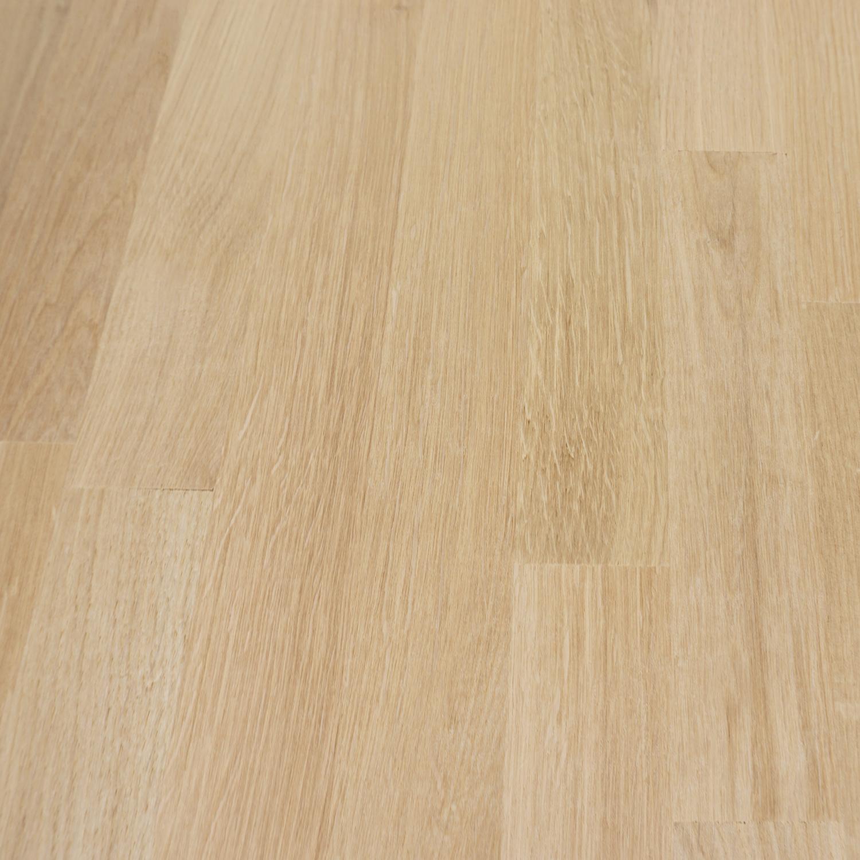 Eiken vingerlas paneel - 2,5 cm dik (1-laag) - vaste afmetingen - foutvrij eikenhout kd 8-12% - in lengtelas verlijmd