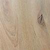 Eiken tafelblad met lamel op de kopse kant - 4,5 cm dik (1-laag) - Diverse afmetingen - rustiek Europees eikenhout - GEBORSTELD + V-GROEVEN - verlijmd kd 10-12%