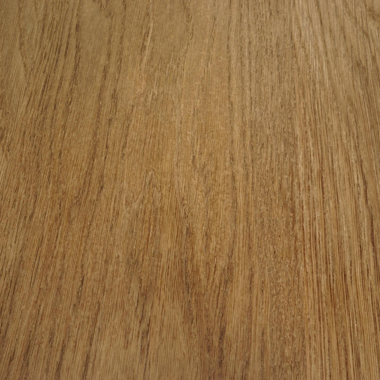 Eiken tafelblad op maat - 6 cm dik (3-laags) - foutvrij Europees eikenhout GEBORSTELD & GEROOKT - verlijmd kd 8-12% - 50-120x50-350 cm