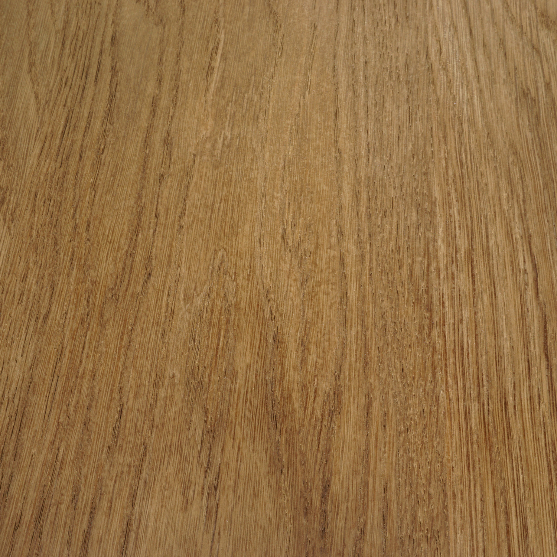 Eiken tafelblad foutvrij verjongd - op maat - 4 cm dik (1-laag) - met verjongde rand - foutvrij Europees eikenhout - verlijmd kd 8-12% - 50-120x50-300 cm - GEBORSTELD & GEROOKT