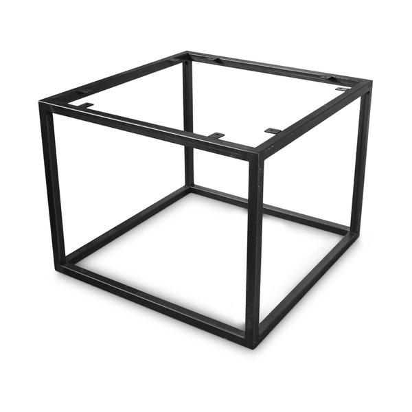 Stalen frame salontafel - vierkant - diverse maten - 38 cm hoog