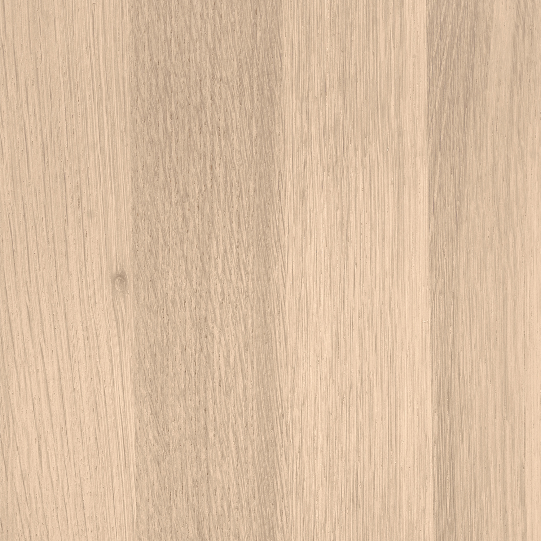 Eiken tafelpoot 8x8 cm - Massief verlijmd (delen van 2-3 cm)- Foutvrij (A-kwaliteit) eikenhout kd 12% (per stuk)