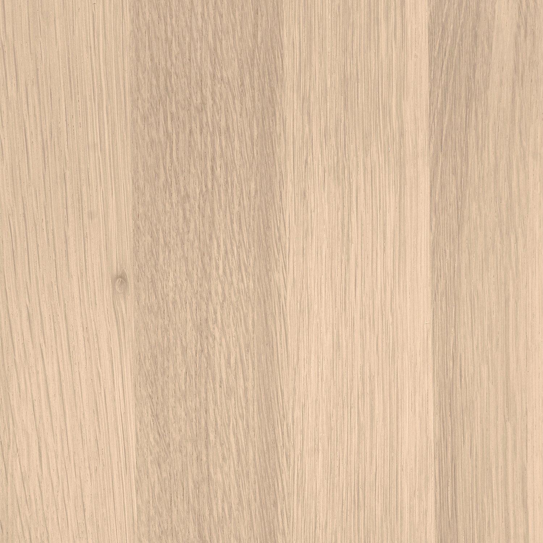 Eiken wastafelblad op maat - BOOMSTAM RAND / WAANKANT LOOK - incl. gaten - 4 cm dik (1-laag) - foutvrij Europees eikenhout - verlijmd kd 8-12% - 15-120x20-350 cm