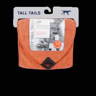Greenfields Pocket Towel Orange Bone 25x91