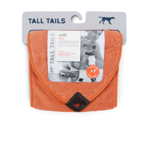 Greenfields Pocket Towel Orange