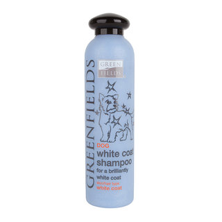 Greenfields Dog Shampoo White Coat