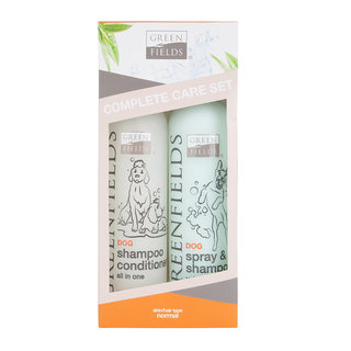 Greenfields Complete Care Set für Hunde 2 x 250ml