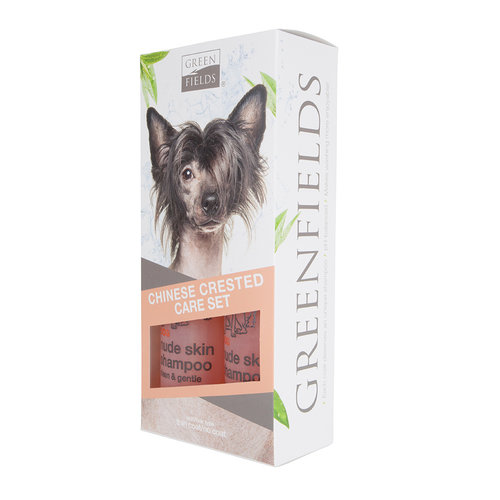 Greenfields Greenfields Chinese Crested Care Set 2x250ml
