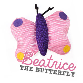 Beco Plush Wand Toy - Beatrice the Butterfly