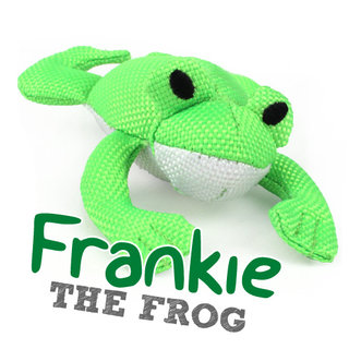 Beco Plush Wand Toy - Frankie the Frog