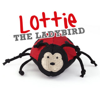 Beco Plush Wand Toy - Lottie the Ladybird