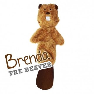 Beco Stuffing Free Toy - Brenda the Beaver