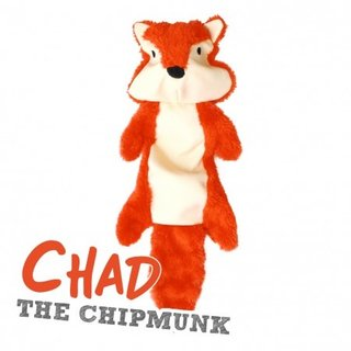 Beco Stuffing Free Toy - Chad the Chipmunk