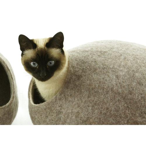 Kivikis Kivikis Cat House Braun