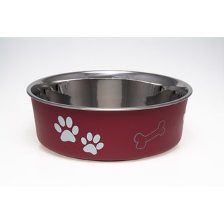 Loving Pets Bella Bowl Merlot
