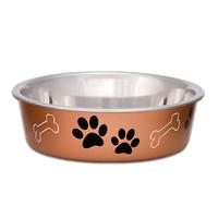 Loving Pets Loving Pets Metallic Bella Bowl Copper