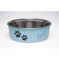 Loving Pets Loving Pets Bella Bowl - Murano Blue