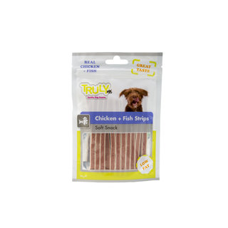 Truly Chicken + Fish Strips 15 x 90gr.