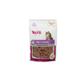 Truly Mini Hearts Chicken & Fish 20 x 50gr.