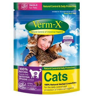 Verm-X Snack for Cats 120gr