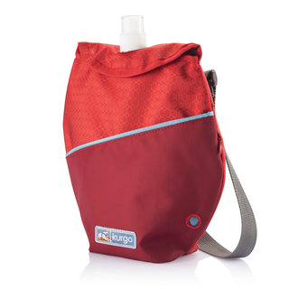 Kurgo - Voyager K9 Canteen - Chili Red