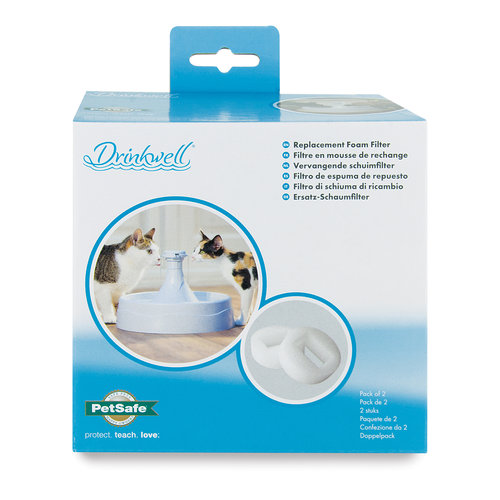 Drinkwell Drinkwell® 360 Replacement Foam Filters - 2-Pack