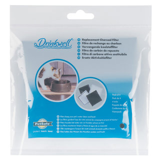 Drinkwell® Replacement Charcoal Filters - 4-Pack