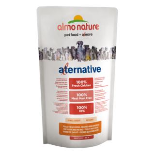 Almo Nature Dog Alternative Dry Food - Chicken and Rice